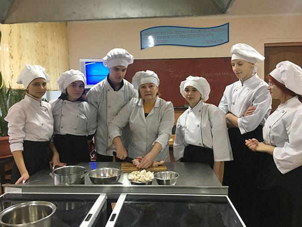 Майстер клас кухаря